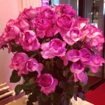 Stunning flowers at Piaget Press Day