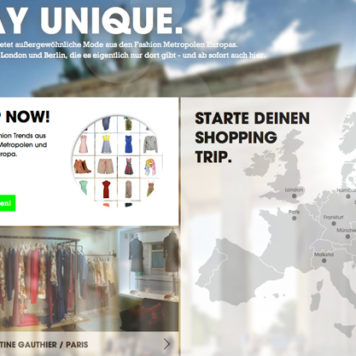 Fashion Locals - A virtual shopping trip