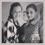With Olivia Palermo at the Louis Vuitton Maison Opening Party