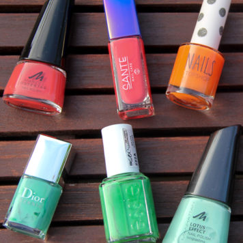 Nail Polish Favorites: Orange versus Green