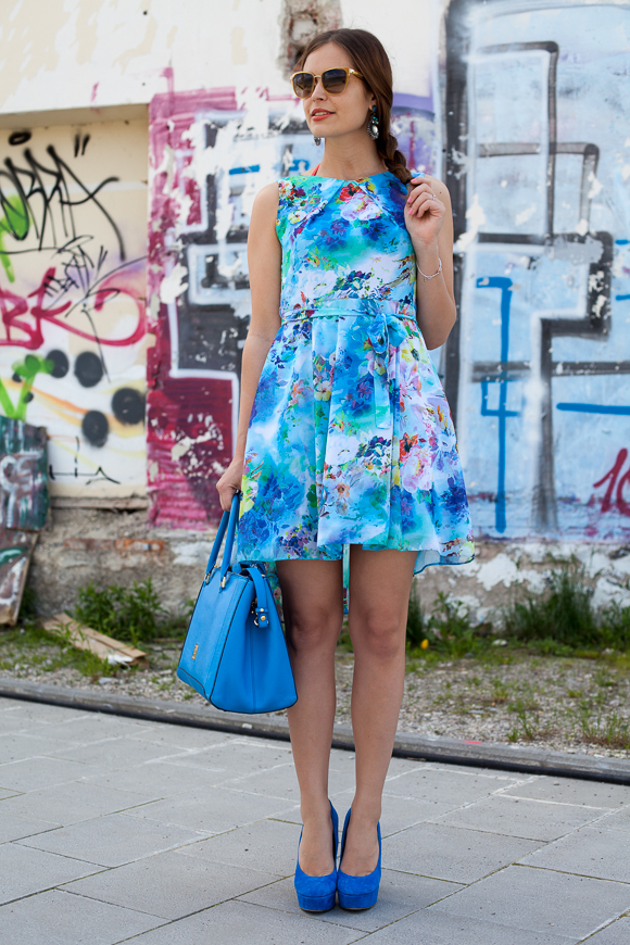 Wallis Flower Dress