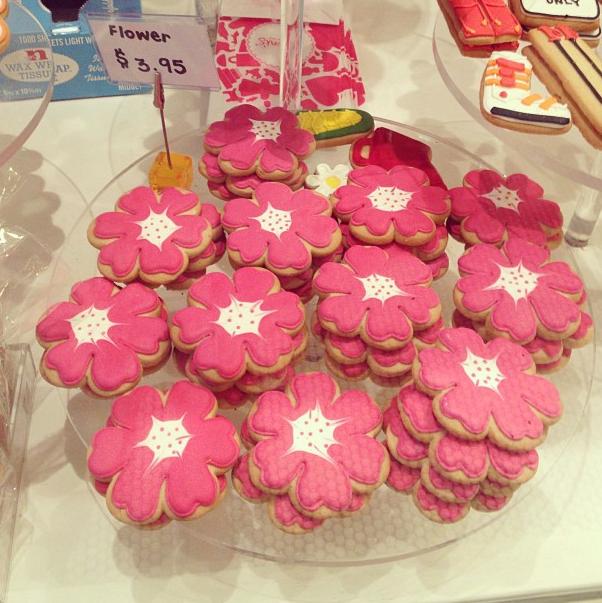 Flower Cookies I'm Chelsea Market