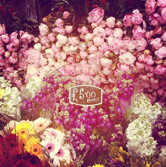 Flower Market in London