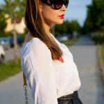 25 Kleidungsstücke – 50 Looks: Outfit 20: Hallhuber Rock + Hallhuber Tunikabluse