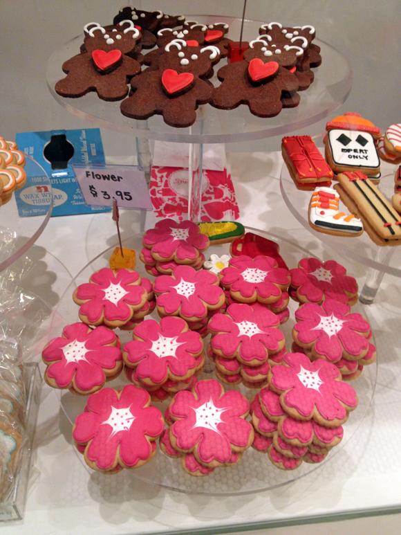 Cookies im Chelsea Market
