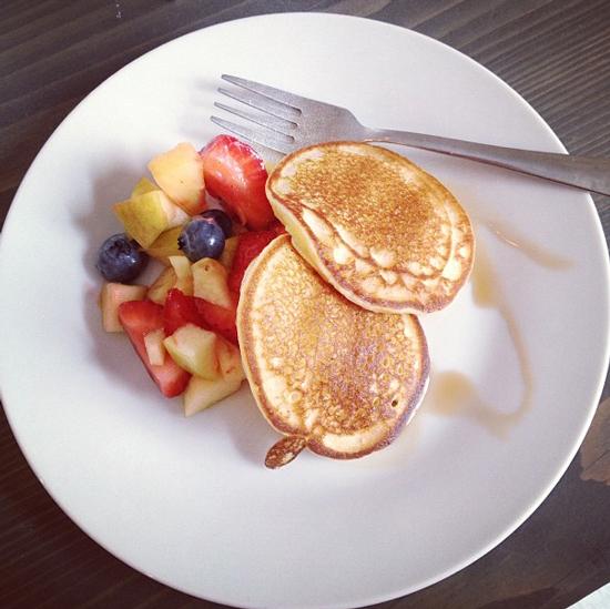 Pancakes im White Rabbit's Room