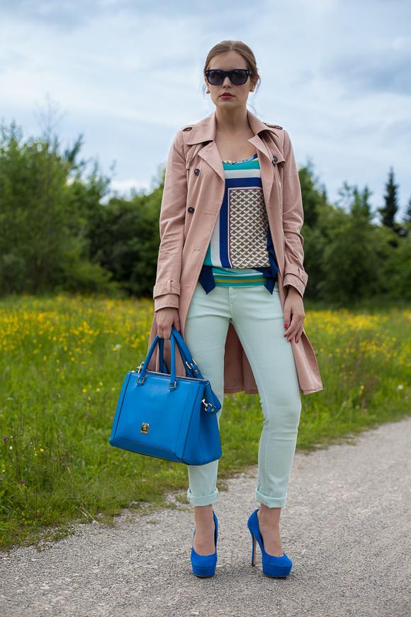 25 Kleidungsstücke – 50 Looks: Outfit 1