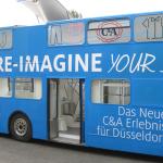 Der C&A Makeover-Bus in Düsseldorf: Lasst euch von mir umstylen!