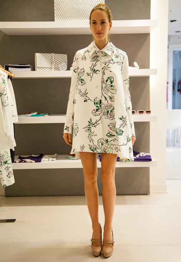 Paris Fashion Week: Showroom-Highlight - Mantel von Cacharel