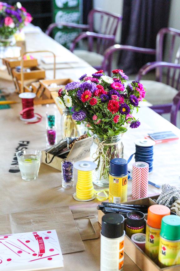 Ein kleiner Ausflug in die Welt der DIY's mit Fashion ID und we love handmade