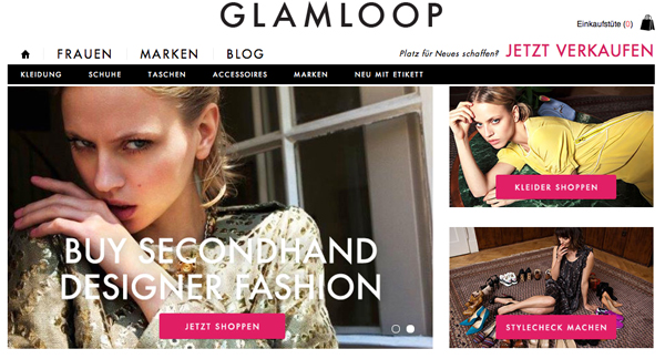 GLAMLOOP.com: Vintage-Designer-Highlights online shoppen!