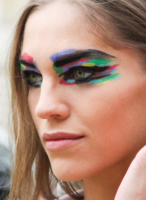 paris fashion week chanel springsummer 2014 makeup