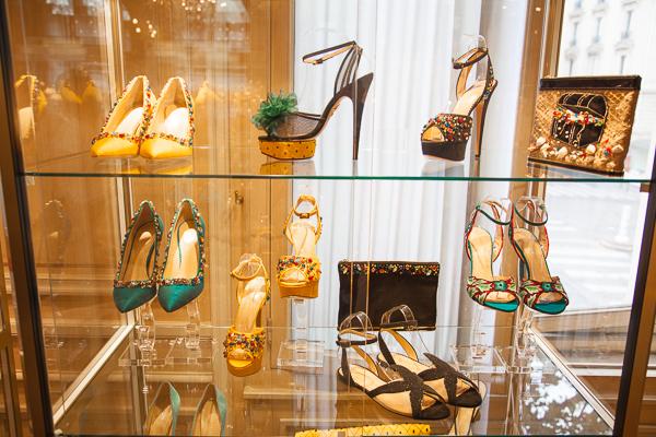 Paris Fashion Week: Im Showroom von Charlotte Olympia