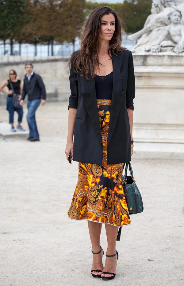 Street Style Trend in Paris: Blazer