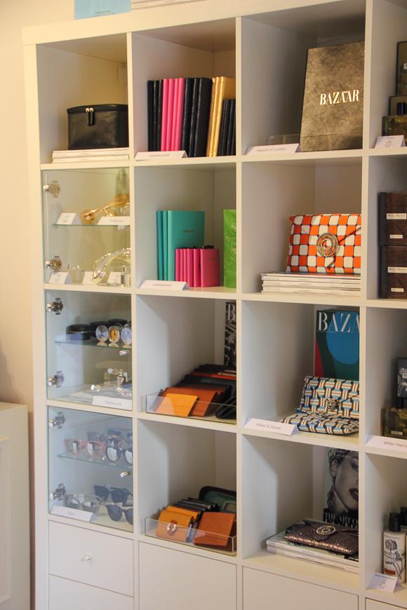Der Harper's Bazaar UK Pop-up-Store im Bicester Village