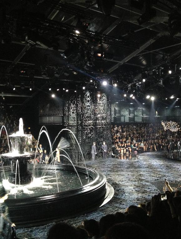 Paris Fashion Week: Impressionen von der Louis Vuitton Spring/Summer 2014 Fashion Show