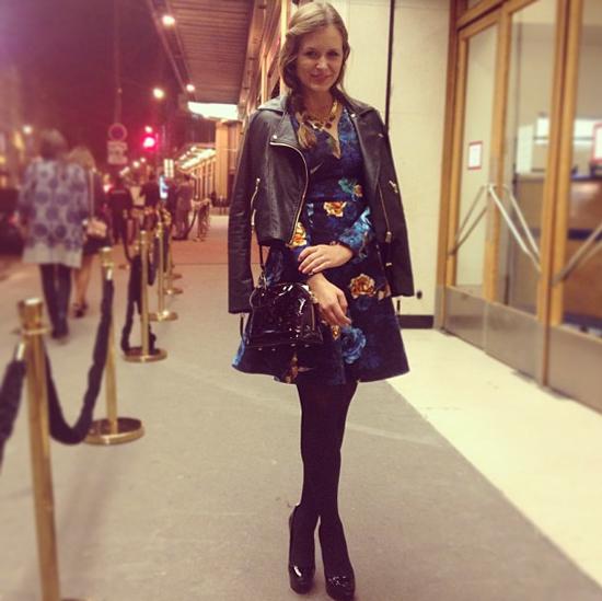 Outfit für die Louis Vuitton Party