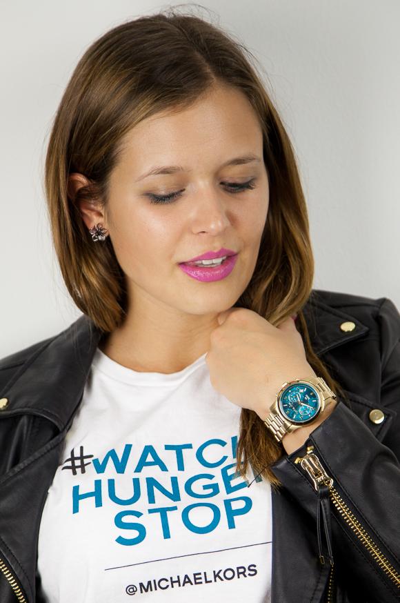 Watch Hunger Stop: Michael Kors startet anlässlich des Welternährungstages am 16. Oktober eine Initiative zur Bekämpfung des Hungers in der Welt