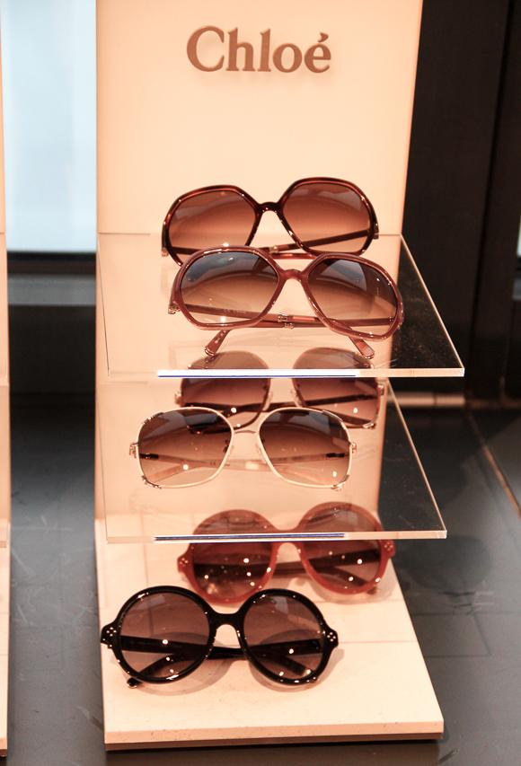 Und noch mehr Sonnenbrillen-Favoriten: Chloé Sommer 2014