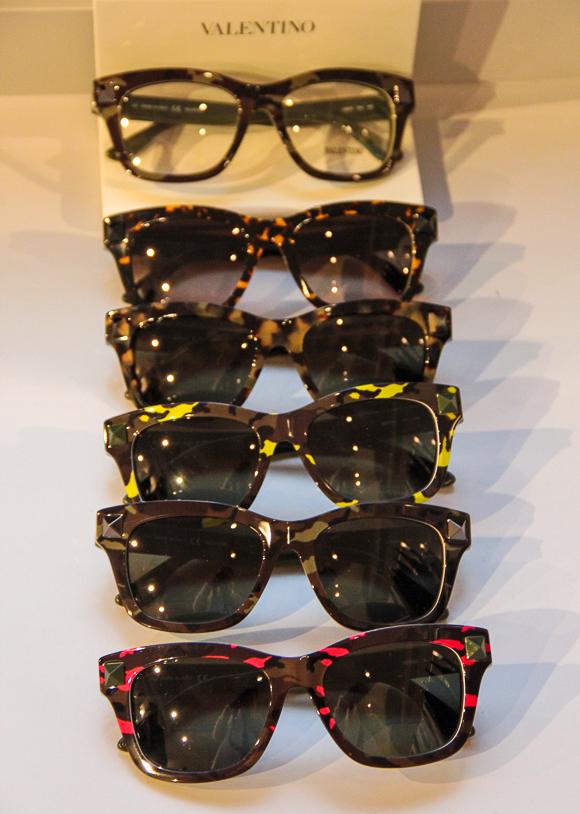 Und noch mehr Sonnenbrillen-Favoriten: Valentino Sommer 2014