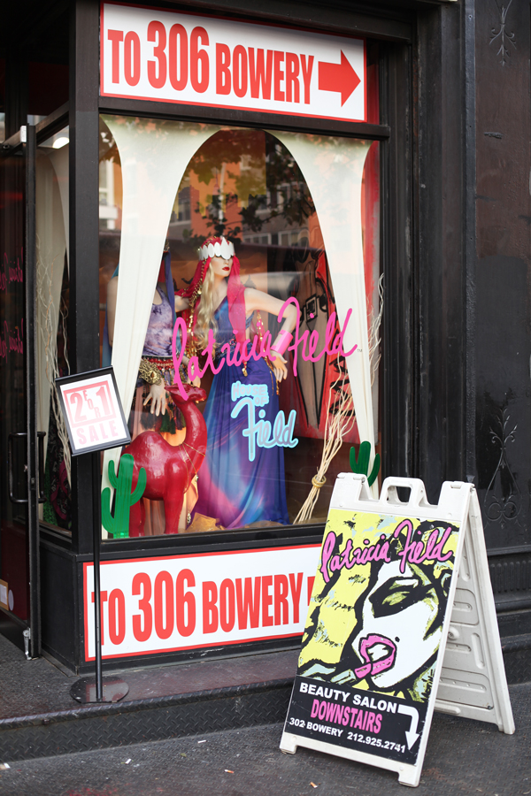 Patricia Field Store in New York City