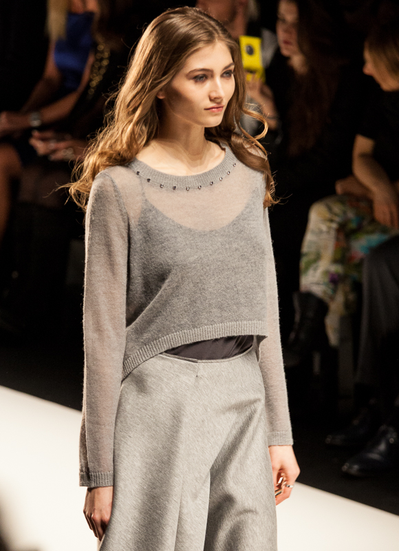 Mercedes-Benz Fashion Week Berlin: Blacky Dress Herbst/Winter 2014/2015