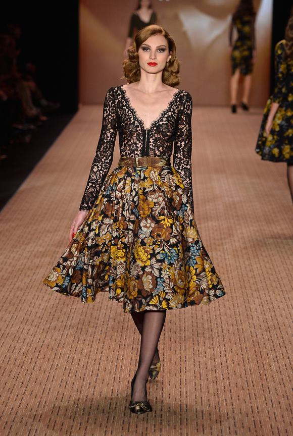 Lena Hoschek Show - Mercedes-Benz Fashion Week Autumn/Winter 2014/15