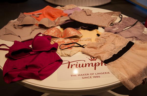 Gewinnt ein professionelles Bra-Fitting und einen 50-Euro-Dessous-Gutschein von Triumph