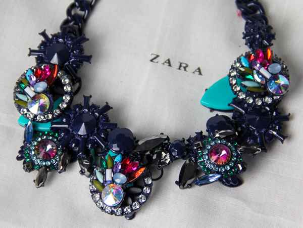 New In: Collierkette von Zara