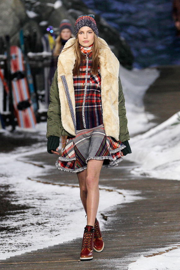 New York Fashion Week: Tommy Hilfiger Herbst/Winter 2014/2015