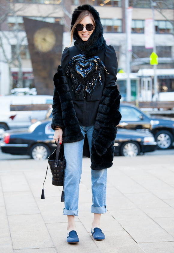 New York Fashion Week: Street Styles - Part Two