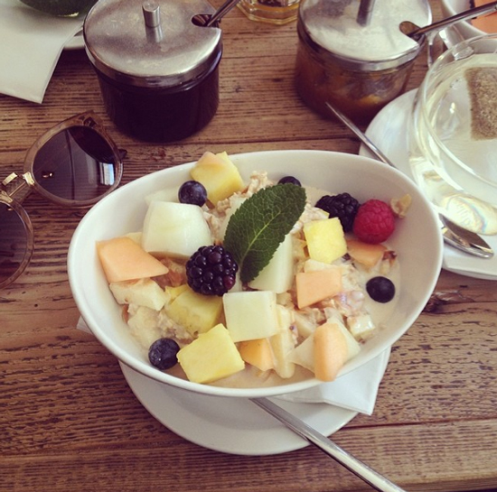 Frühstück im Cotidiano