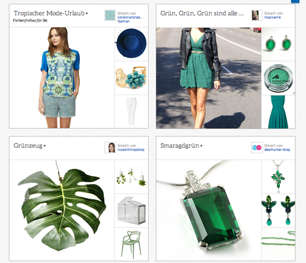 Ein neues Social Shopping Konzept: Die eBay-Kollektionen!