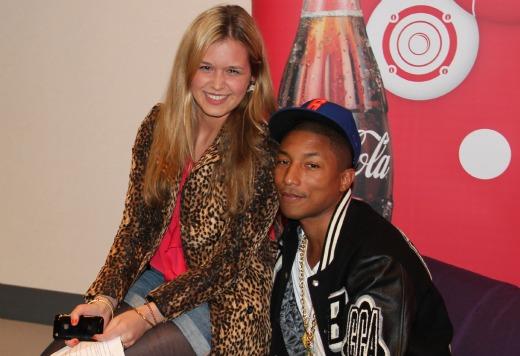 Vier Jahre Josie loves: Celebrity-Momente - Mit Pharrell Williams