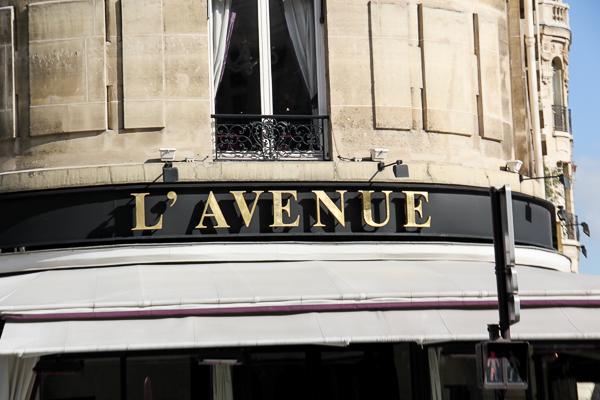 Mit Yves Saint Laurent Beauté in Paris
