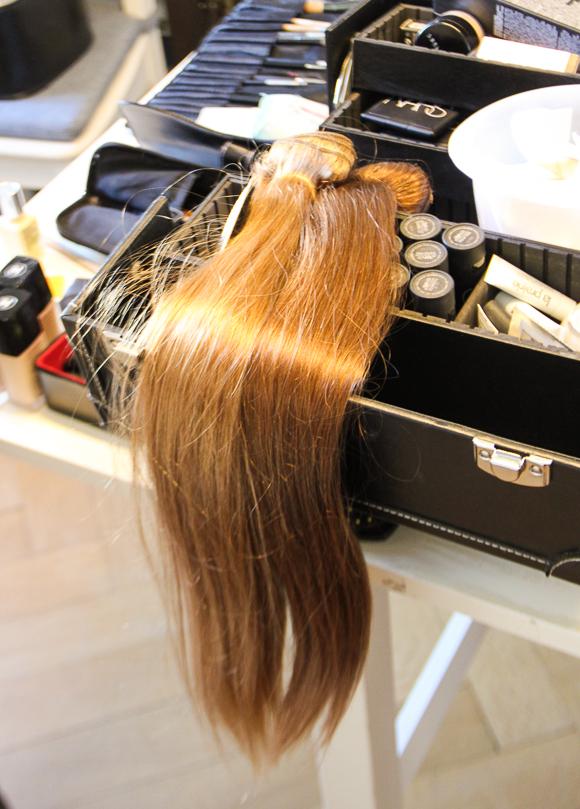 Langes Haar dank Clip-In-Extensions von MyHairClips