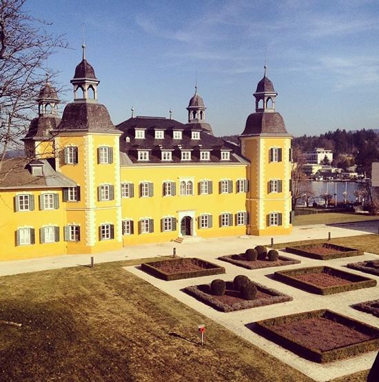 Liebste Grüße aus Österreich - Im Schloss Hotel Velden am Wörthersee