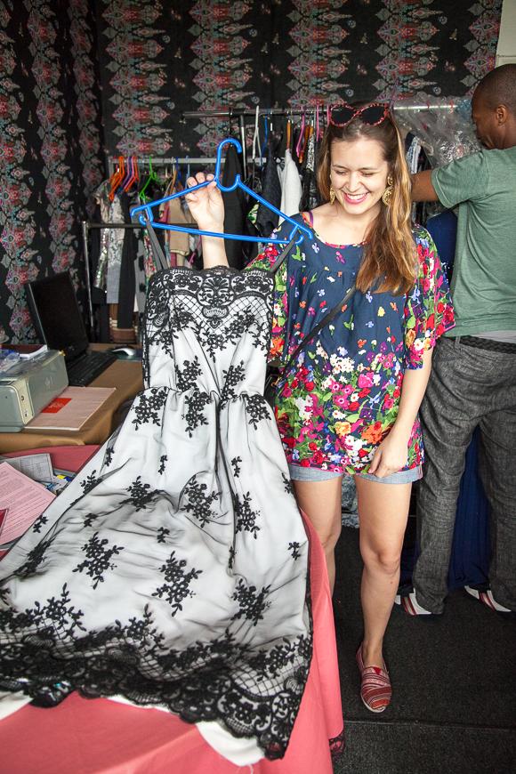 Mit Designer Thula Sindi unterwegs in Johannesburg