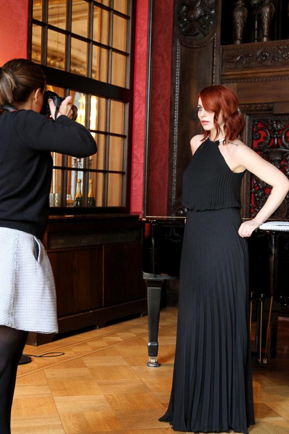 Ein glamouröses Shooting mit Fashion ID im Schlosshotel im Grunewald