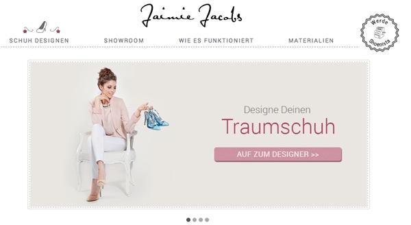 outlet store 21668 448c9 Den perfekten Schuh selbst designen mit Jaimie Jacobs ...