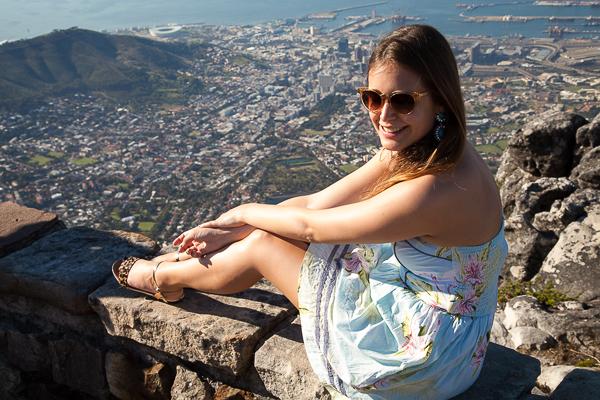 Auf dem Gipfel des Tafelbergs
