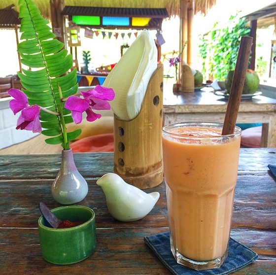 Papaya-Lassi in Ubud