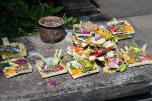 Balinesische Opfergaben