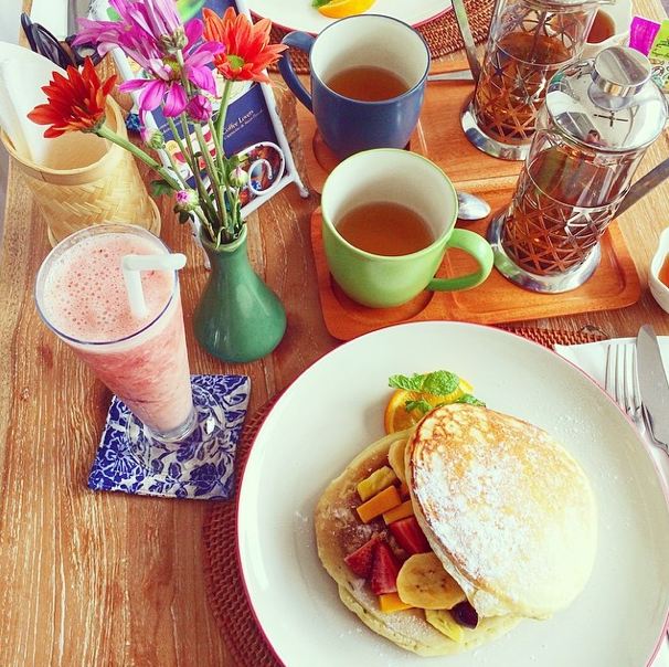Frühstück Moonlight Café Bali