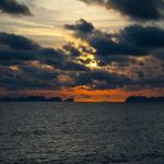 Sonnenuntergang Koh Lanta Long Beach
