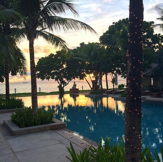 Layana Resort Infinity Pool
