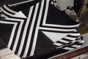Angel Jackson Tasche Schwarz Weiß