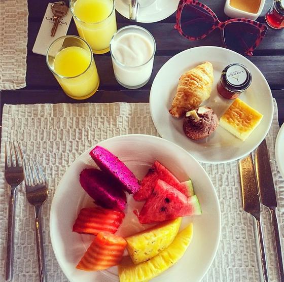 Layana Resort Koh Lanta Frühstück