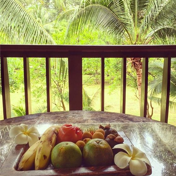 Layana Resort Obst