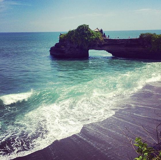 Klippen Tanah Lot Bali